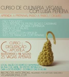 CURSO CULINARIA VEGANA COM LUIZA PEREIRA